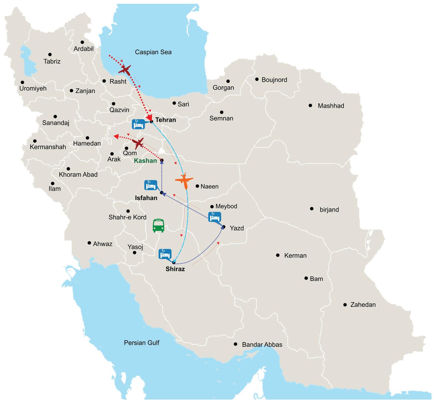 map tour