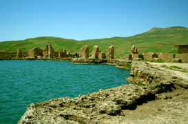 Takhte Soleyman,To Iran